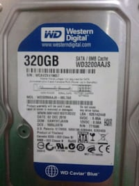 WD 320 GB HARD DİSK