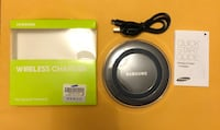 New Samsung Qi Wireless Charger (Black/White)-shipping Option  Ajax, L1S