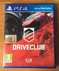 DRIVE CLUB ps4 Melfi, 85025