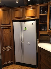 Side by side fridge... price reduced for quick sale.  Works perfectly.