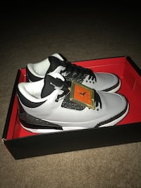 Air Jordan III Retro Wolf Grey Men Sizes 9.5 & 10.5 Available  Brand new original box! Centreville, 20120