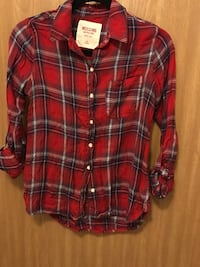 red and black plaid mossimo sport shirt Hustisford, 53034