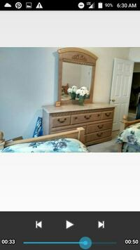 dresser with mirror and two twin beds Conyers, 30013