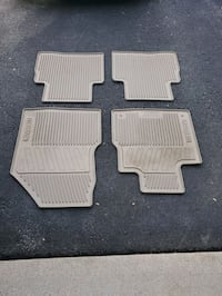 All weather floor mats for Nissan Murano