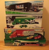 Toy truck lot - BP, Getty, Mobil Chesterfield, 08515
