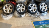"BMW 17"" Stock Rims and Pirelli tires Dumfries, 22026"