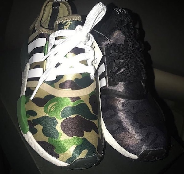 387c64263 Used Adidas x Bape Nmds for sale in Los Angeles - letgo