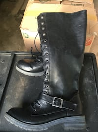 Womens union bay combat boots size 9 Fort Worth, 76137