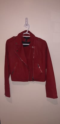 red zip-up jacket Westmount, H3Y 1C2