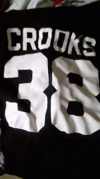 white and black NFL jersey 593 km