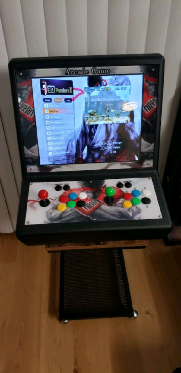 Awesome Tabletop Arcade Cabinet! OVER 2000+ GAMES