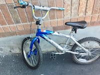 Toddler's blue and white bicycle Whitchurch-Stouffville, L4A 0M4