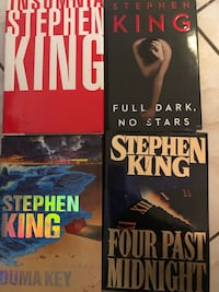 Stephen king books  Brampton, L6V 3G5