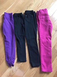 Size 6 girls tights and jeggings  Brampton