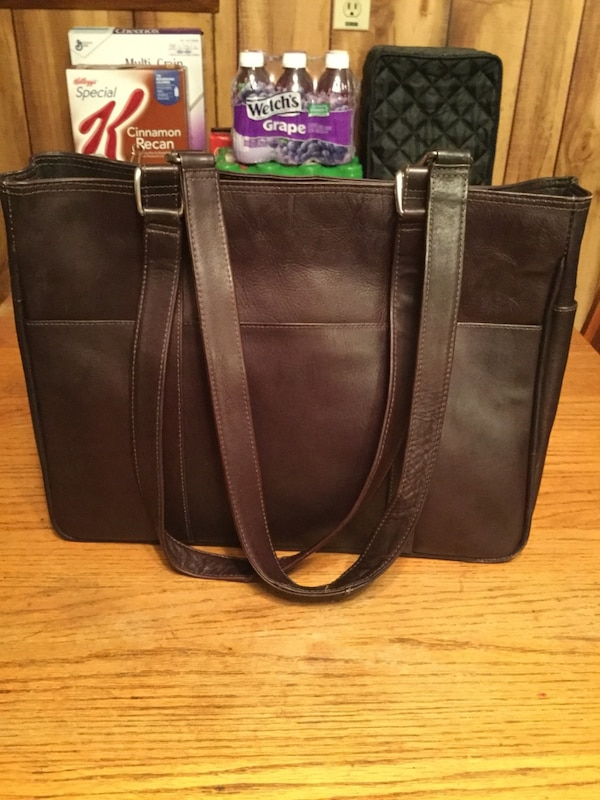 Used Piel Leather Tote Bag for sale in Joliet - letgo 47fe003124c8b