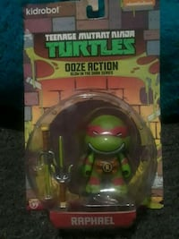 green and black TMNT action figure in pack Somerville, 02145