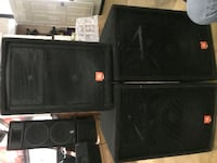 JBL JRX-100 2 main speakers and 1 monitor speaker Woodbridge, 22192
