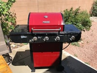 Red and black gas grill Rio Rancho, 87124