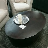 Espresso oval coffee table Oakville, L6L 5N1