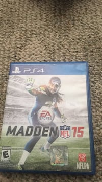 madden 15 ps4 and game case Martinsburg, 25401