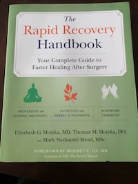 Recovery after surgery book