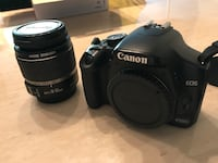 Canon EOS 450D with zoom lens Toronto, M9C 0A2
