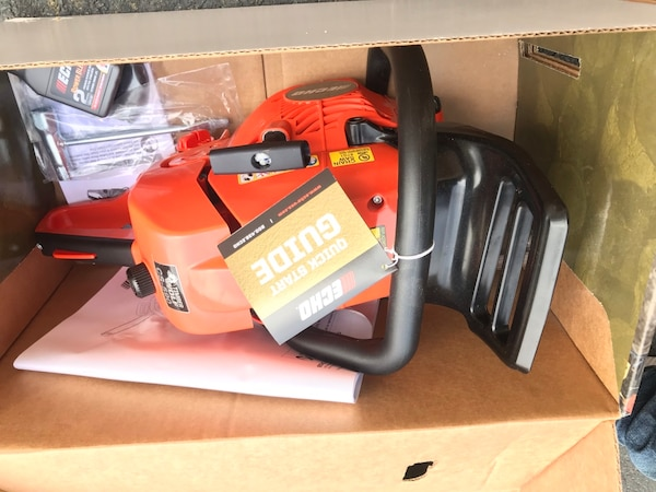 Brand new echo chainsaw. $300 firm. Retails for $399.99 ea8c3d32-9669-41b0-85ba-3f81175c766c