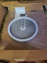 8 inch smooth top stove burner