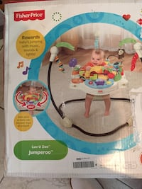 4f780461a Used New in box Fisher Price Luv U Zoo Jumperoo for sale in San ...