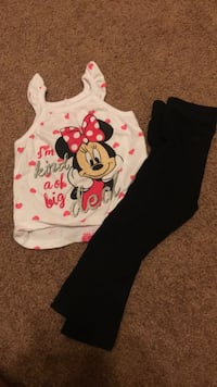 Minnie Mouse Outfit size 2T
