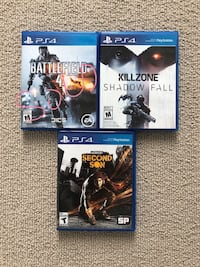 PS4 Games Burnaby, V5H