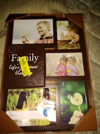 four assorted photo frames with black wooden frame Owosso, 48867