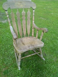 gray and brown wooden rocking chair Surrey, V3W 3H3