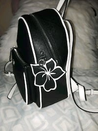 black and white leather tote bag Portland, 97218
