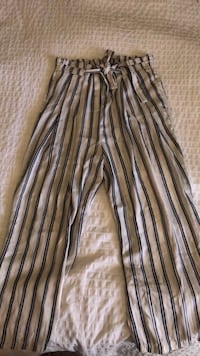 ZARA; Striped Pants (size medium)  Burnaby