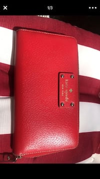 Red Kate spade wallet like new Alexandria, 22311