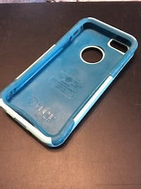 Blue and gray otterbox iphone case 220 mi