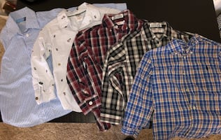 4T Button Up Shirts