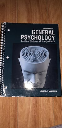 General Psychology; Lecture Notes and Study Guide by Jakubow Delray Beach, 33444