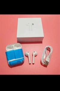 New AirPod twinset with charging dock not an Apple product but comparable features good sound  Toronto, M9L 2K2