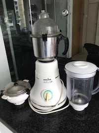 Mixer Grinder - Kenstar Stallion Dx MG 411 600-Watt Mixer Grinder (White) Singapore, 439443