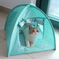 Brand new PET playhouse doghouse cat house tents canopy style fun sleep play crate kennel Rancho Cucamonga, 91701