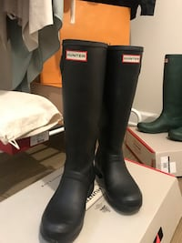 Hunter Black Boots Size 37 Rockville, 20852