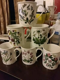 6 spring coffee mugs  Montgomery Village, 20879