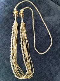 """NEW 34"""" Multi-Strand Champagn  Crystal Bead Necklace Tucson, 85715"""