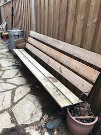 Outdoor Bench Waterloo, N2J 3E4