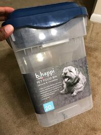 Pet food/litter container  Silver Spring, 20904