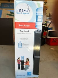 Primo Top Load Water Dispenser Dispenses hot and cold water. Markham, L6G