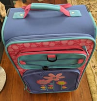 Girls Small Suitcase With Wheels