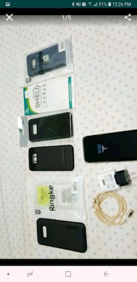 Galaxy s8 plus bundle unlocked 64gb Brandywine, 20613